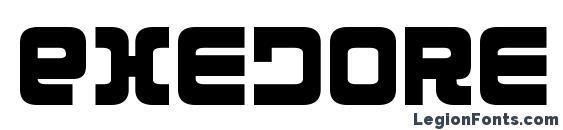 Exedore Condensed Font
