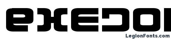 Exedore Expanded Font, Stylish Fonts