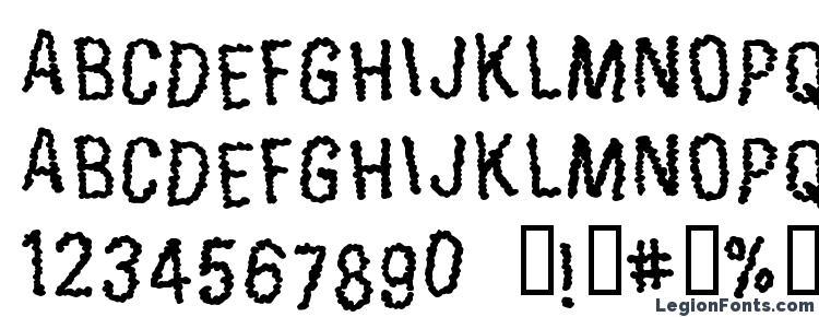глифы шрифта Exoneration, символы шрифта Exoneration, символьная карта шрифта Exoneration, предварительный просмотр шрифта Exoneration, алфавит шрифта Exoneration, шрифт Exoneration