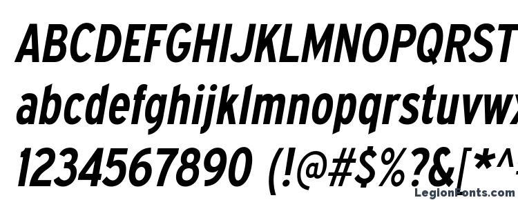 глифы шрифта ExpresswayCdSb Italic, символы шрифта ExpresswayCdSb Italic, символьная карта шрифта ExpresswayCdSb Italic, предварительный просмотр шрифта ExpresswayCdSb Italic, алфавит шрифта ExpresswayCdSb Italic, шрифт ExpresswayCdSb Italic