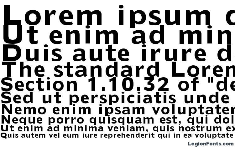 specimens Extens SSi Bold font, sample Extens SSi Bold font, an example of writing Extens SSi Bold font, review Extens SSi Bold font, preview Extens SSi Bold font, Extens SSi Bold font