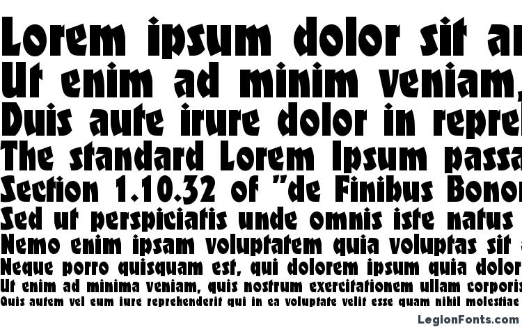 specimens F650 Deco Regular font, sample F650 Deco Regular font, an example of writing F650 Deco Regular font, review F650 Deco Regular font, preview F650 Deco Regular font, F650 Deco Regular font
