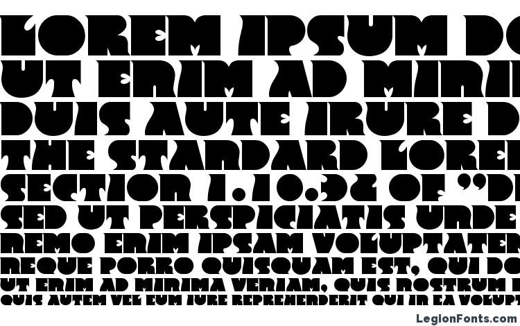 specimens F820 Deco Bold font, sample F820 Deco Bold font, an example of writing F820 Deco Bold font, review F820 Deco Bold font, preview F820 Deco Bold font, F820 Deco Bold font