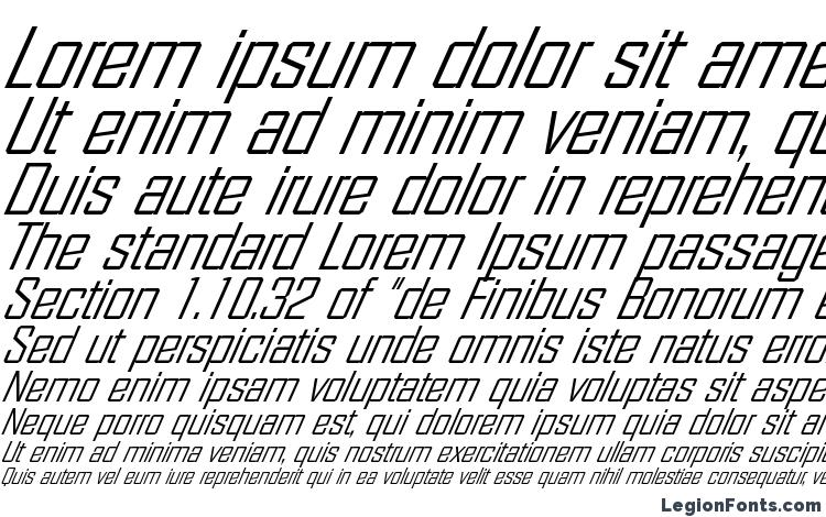specimens FacetLight XXitalic Regular font, sample FacetLight XXitalic Regular font, an example of writing FacetLight XXitalic Regular font, review FacetLight XXitalic Regular font, preview FacetLight XXitalic Regular font, FacetLight XXitalic Regular font