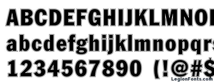 glyphs Fagotcondconturc font, сharacters Fagotcondconturc font, symbols Fagotcondconturc font, character map Fagotcondconturc font, preview Fagotcondconturc font, abc Fagotcondconturc font, Fagotcondconturc font