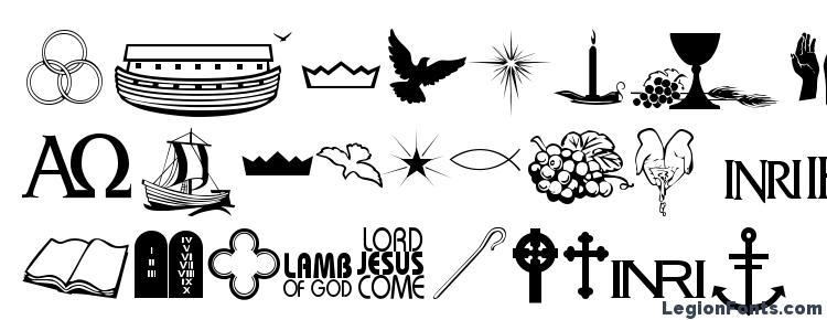 glyphs Faith Ornaments font, сharacters Faith Ornaments font, symbols Faith Ornaments font, character map Faith Ornaments font, preview Faith Ornaments font, abc Faith Ornaments font, Faith Ornaments font