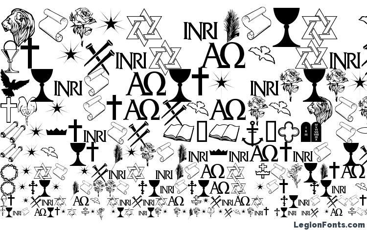 specimens Faith Ornaments font, sample Faith Ornaments font, an example of writing Faith Ornaments font, review Faith Ornaments font, preview Faith Ornaments font, Faith Ornaments font