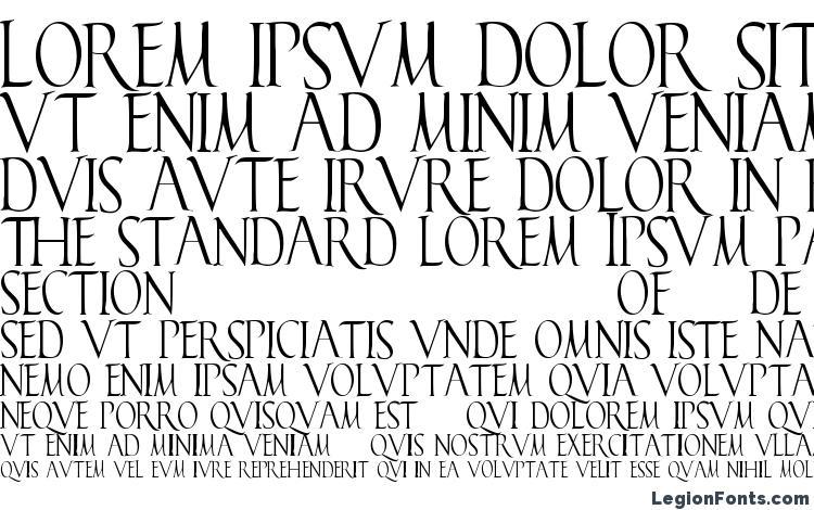specimens Falconis font, sample Falconis font, an example of writing Falconis font, review Falconis font, preview Falconis font, Falconis font