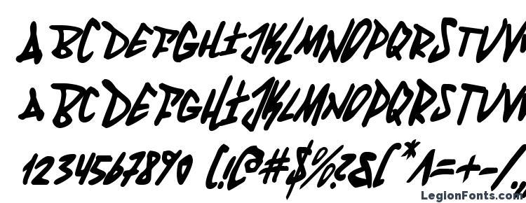 глифы шрифта Fantom Condensed Italic, символы шрифта Fantom Condensed Italic, символьная карта шрифта Fantom Condensed Italic, предварительный просмотр шрифта Fantom Condensed Italic, алфавит шрифта Fantom Condensed Italic, шрифт Fantom Condensed Italic