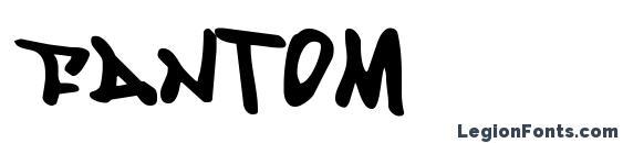 Шрифт Fantom