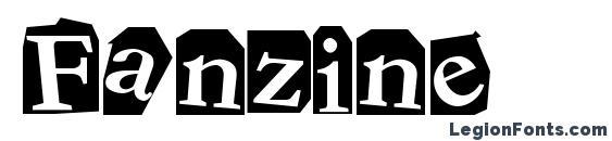 Шрифт Fanzine