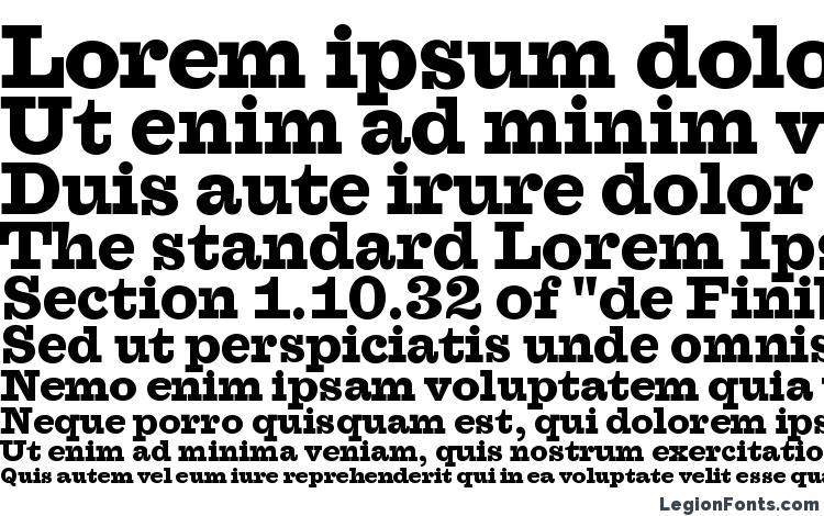 specimens Farao Black OT font, sample Farao Black OT font, an example of writing Farao Black OT font, review Farao Black OT font, preview Farao Black OT font, Farao Black OT font