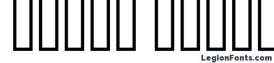 Farsi Simple Bold Font