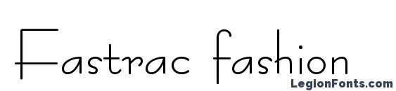 Fastrac fashion Font