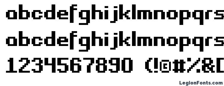 glyphs Fasttracker ii font, сharacters Fasttracker ii font, symbols Fasttracker ii font, character map Fasttracker ii font, preview Fasttracker ii font, abc Fasttracker ii font, Fasttracker ii font