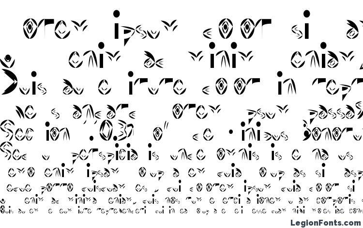 specimens Fat Cyan font, sample Fat Cyan font, an example of writing Fat Cyan font, review Fat Cyan font, preview Fat Cyan font, Fat Cyan font