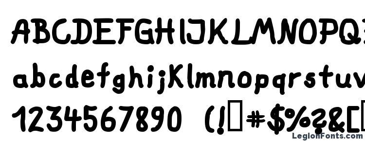 глифы шрифта fat marker, символы шрифта fat marker, символьная карта шрифта fat marker, предварительный просмотр шрифта fat marker, алфавит шрифта fat marker, шрифт fat marker