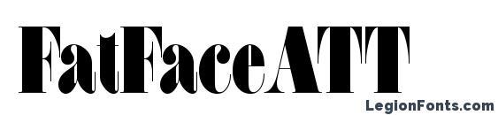 FatFaceATT Font