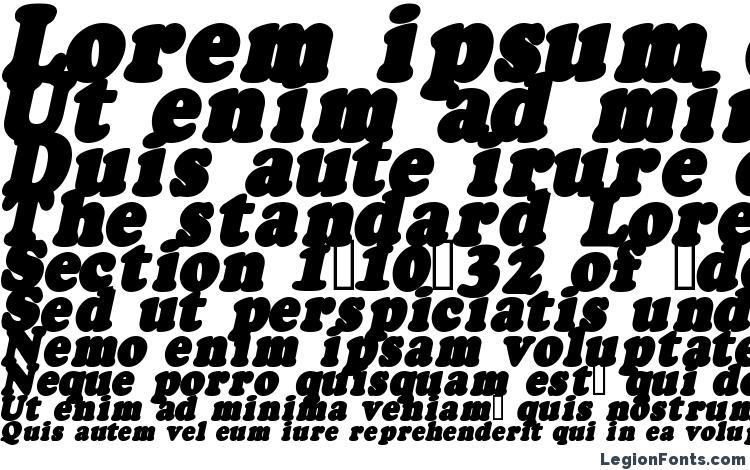 specimens Fatso Italic CS font, sample Fatso Italic CS font, an example of writing Fatso Italic CS font, review Fatso Italic CS font, preview Fatso Italic CS font, Fatso Italic CS font
