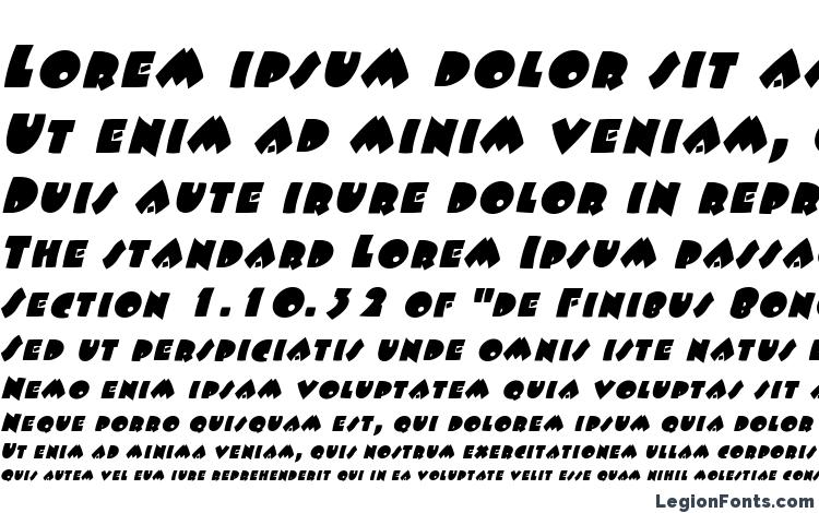 specimens Fatso italic font, sample Fatso italic font, an example of writing Fatso italic font, review Fatso italic font, preview Fatso italic font, Fatso italic font