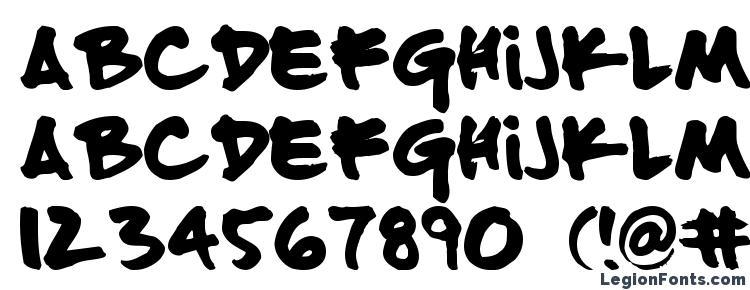 glyphs FATTIP font, сharacters FATTIP font, symbols FATTIP font, character map FATTIP font, preview FATTIP font, abc FATTIP font, FATTIP font
