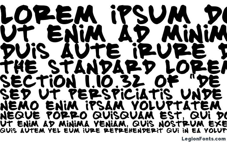 specimens FATTIP font, sample FATTIP font, an example of writing FATTIP font, review FATTIP font, preview FATTIP font, FATTIP font