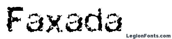 Faxada Font, Halloween Fonts