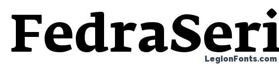 FedraSerifAPro Bold Font