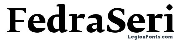 FedraSerifBPro Bold Font
