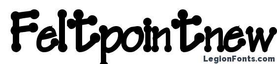 шрифт Feltpointnew35 bold, бесплатный шрифт Feltpointnew35 bold, предварительный просмотр шрифта Feltpointnew35 bold