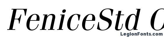 FeniceStd Oblique Font