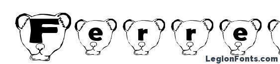 Ferret head normal Font
