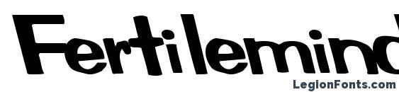Fertilemindplus regular ttcon Font