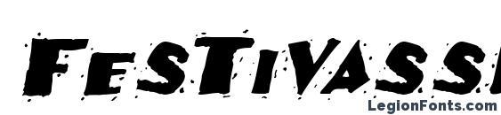 Festivassk italic Font