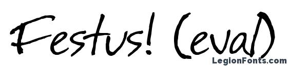 Festus! (eval) Font