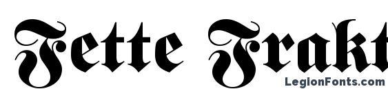 Fette Fraktur LT Font