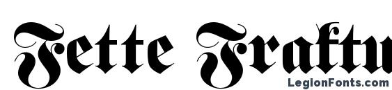 Fette Fraktur Font, Tattoo Fonts