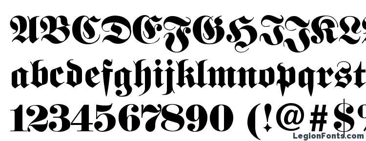 glyphs FetteFraktur font, сharacters FetteFraktur font, symbols FetteFraktur font, character map FetteFraktur font, preview FetteFraktur font, abc FetteFraktur font, FetteFraktur font