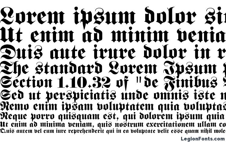 specimens FetteFraktur font, sample FetteFraktur font, an example of writing FetteFraktur font, review FetteFraktur font, preview FetteFraktur font, FetteFraktur font