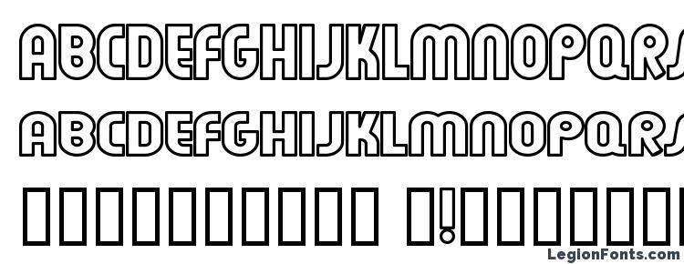 глифы шрифта Feuerfeste Outline Normal, символы шрифта Feuerfeste Outline Normal, символьная карта шрифта Feuerfeste Outline Normal, предварительный просмотр шрифта Feuerfeste Outline Normal, алфавит шрифта Feuerfeste Outline Normal, шрифт Feuerfeste Outline Normal