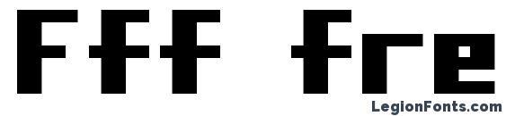 Шрифт Fff freedom
