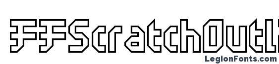 FFScratchOutline Font