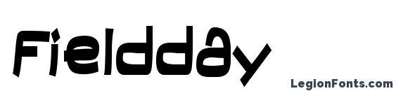 Fieldday font, free Fieldday font, preview Fieldday font