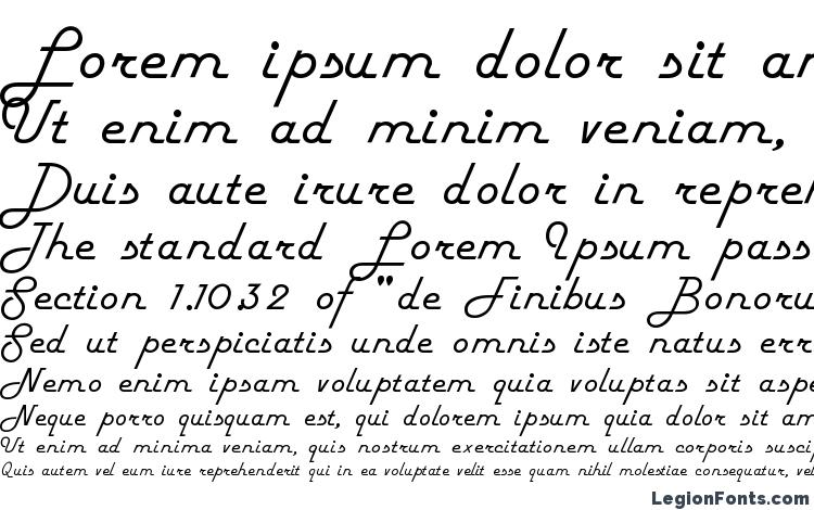 specimens Fifties font, sample Fifties font, an example of writing Fifties font, review Fifties font, preview Fifties font, Fifties font