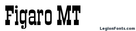 Шрифт Figaro MT