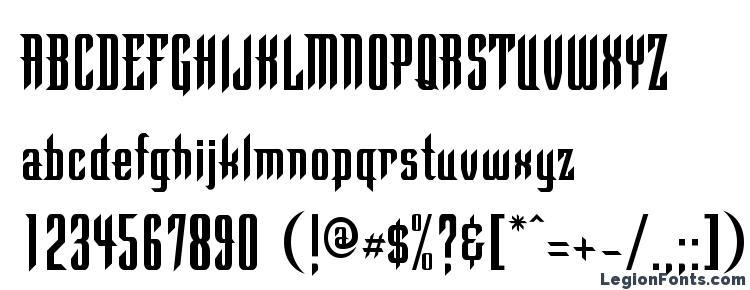 глифы шрифта Finistc, символы шрифта Finistc, символьная карта шрифта Finistc, предварительный просмотр шрифта Finistc, алфавит шрифта Finistc, шрифт Finistc
