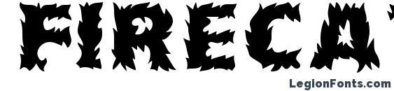 Шрифт Firecat