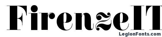 Шрифт FirenzeITC Normal
