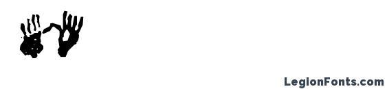 Шрифт Firopa, Шрифты иконки