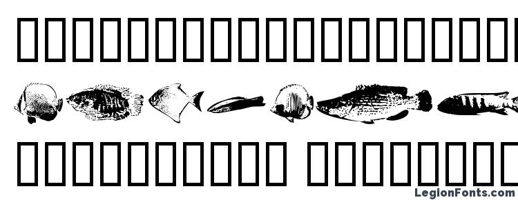glyphs Fishpoa font, сharacters Fishpoa font, symbols Fishpoa font, character map Fishpoa font, preview Fishpoa font, abc Fishpoa font, Fishpoa font